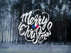 Merry Christmas! #typography
