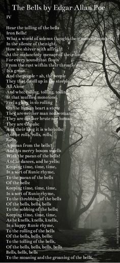 The Bells (Part 4) by Edgar Allan Poe