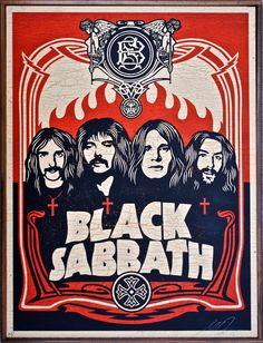 Black Sabbath by Shepard Fairey