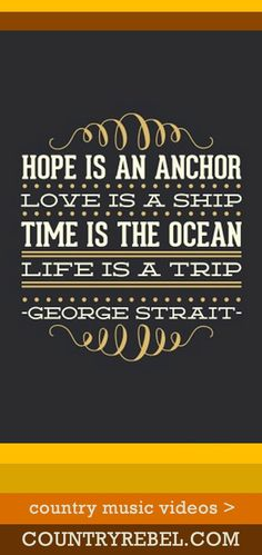 George Strait Songs - You'll Be There Lyrics and Country Music Video. George Strait is the king 👏🏼 Country Music Quotes, Country Music Lyrics, Country Music Videos, Country Songs, Country Girls, Quotes Thoughts, Life Quotes Love, Quotes To Live By, Smile Quotes