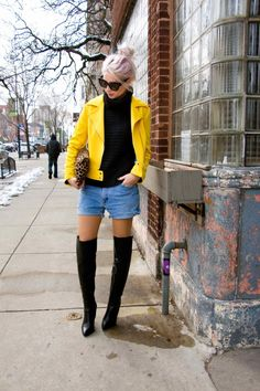 Not So Mellow Yellow   The Spring Jacket