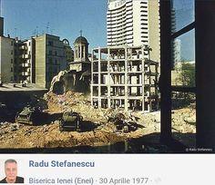 Demolarea bisericii Enei Bucharest Romania, Time Travel, Traveling, Memories, Romania, Viajes, Memoirs, Souvenirs, Trips