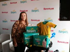 Evento Pampers Pants e Hipogloss
