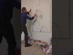 # Work in progress # Studio Bucharest, Studio, Youtube, Painting, Painting Art, Studios, Paintings, Painted Canvas, Youtubers