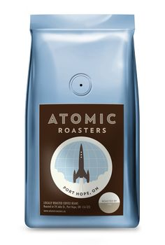 30 Creative Coffee Packages - The Dieline - Atomic Coffee