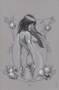 Vampirella by Jenny Frison
