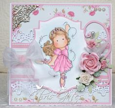 Ballerina Tilda, Fairy Tale Collection, Magnolia stamps