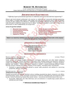 Industrial Engineering Resume Objective Shopgrat Dayjob  Electrician Resume Objective