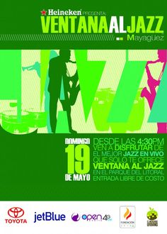 "Ventana al Jazz: Mayagüez @ Anfiteatro Israel ""Shorty"" Castro, Paseo del Litoral, Mayagüez"