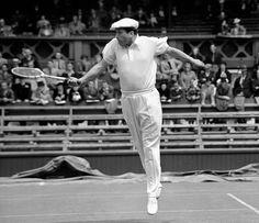 1939 - Roderick Menzel Wimbledon Opening Match. (AP Photo)