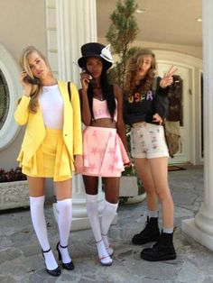 SO obsessed with WIldfox Couture's new clueless lookbook :))))