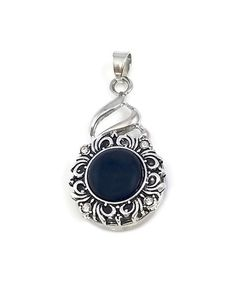 Another great find on #zulily! Black Elegant Large Interchangeable Snap Charm Pendant #zulilyfinds