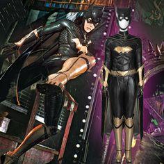 MANLUYUNXIAO Batman: Arkham Chevalier Batgirl Cosplay Costume Halloween Costumes Pour Femmes Batman Batgirl salopette Costume de Super-Hé Costume Halloween, Batman Cosplay Costume, Batgirl Cosplay, Anime Costumes, Movie Costumes, Cosplay Costumes, Batman And Batgirl, Batman Arkham Knight, Super Hero Outfits