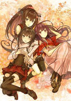 Taihou, Yamato & Kamikaze
