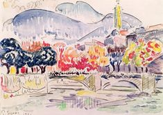 Titre de l'image : Paul Signac - Le Paillon, Nice