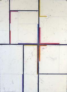 glovaskicom: Suburbia #9, pastel on paper, Glovaski 2012