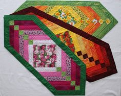 (7) Name: 'Quilting : Chevron table runner