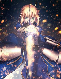 Saber Fate Stay Nigth