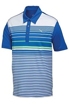 164245782 Puma YD Stripe Golf Shirt   You can find out more details at the link of  the image. Note It is Affiliate Link to Amazon.