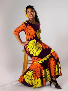 Kara Island Wear, Island Outfit, Island Style Clothing, Hawaiian Fashion, Polynesian Culture, Different Dresses, Moana, Unique Outfits, Dress Patterns