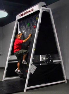 rock climbing treadmill @Jenn L Hennig this is exactly what you need for Cohen