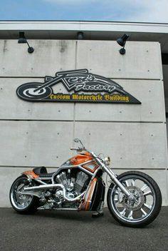 V-ROD Custom Harley Davidson V Rod, Harley Davidson Motorcycles, Custom Street Bikes, Custom Bikes, Hd V Rod, V Rod Custom, Harley V Rod, Night Rod Special, American Chopper