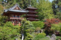 California Gardens Japanese Tea Garden San Francisco Travel
