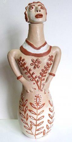 Clemência Pereira dos Santos. Boneca Moringa. 50 cm
