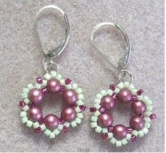 Spring Flower Earrings Howto (Item ID: 101506, End Time : N/A) - DIY Lessons - Learn Jewelry Making With Online Lessons, Videos and PDF Tutorials