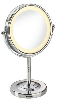 Osta BABYLISS 8435E MEIKKIPEILI Powerilta! Käytännöllinen ja tyylikäs meikkipeili, jossa kahdeksan energiaa säästävää ja kirkasta LEDiä.