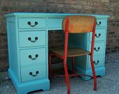 I have a weakness to this color...and I WANT IT!!!  We don't have alot of extra room in our bedroom, but it goes with the theme and is small enough, but functional enough that it would be a ggreat piece of furniture for our room. I could use it like a small dresser and I could get a small bench to put in there to save space! LOVE IT!