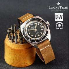 1960's MIREXAL [Swiss] Ref. 757.426 Super Automatic 200m Dive Watch - 25j ETA Cal. 2472 With Date