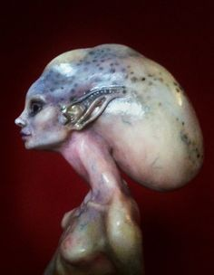 Sea Witch - Sculpt Detail1 by *FooFootheSnoo on deviantART