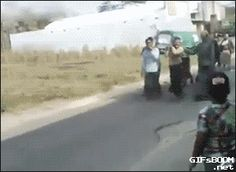 Funny Gifs: body falls out of coffin