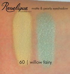 Revelique matte & pearly eyeshadow 60 willow fairy #eyeshadow #matte #pearly #revelique #willowfairy