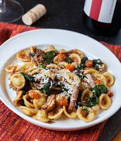 braised short ribs and swiss chard orecchiette with braised short ribs ...