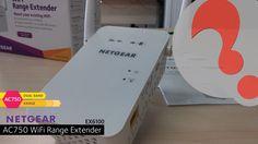 Netgear EX6100 AC750 wifi range extender - Setup and Installation