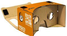 Google Cardboard, innovatieve en opvallende marketingtool. Kijk voor inspiratie op www.limegifts.nl