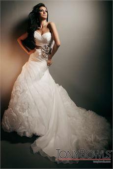 Wedding Dresses By Tony Bowls For Mon Cheri T212274 Wedding