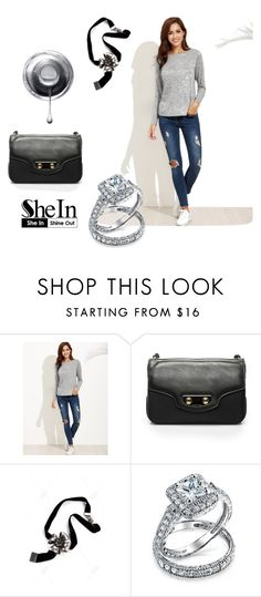 """""""Shein"""" by aria-star ❤ liked on Polyvore featuring Balenciaga, Bling Jewelry, fashionset and shein"""