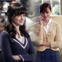 I want Rory Gilmore hair. (I was thinking this just as I watched this episode today!)