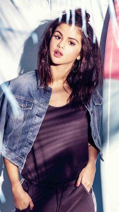 Selena Gomez, Adidas, Neo, brunette, 720x1280 wallpaper