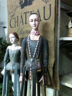 Old mannequin dolls