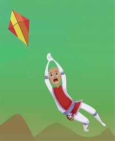 Yahweh Flies a Kite