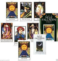 Neu! Rarität! 1996 Das NEUE Palladini Tarot  78 Tarotkarten Kartenlegen Karten