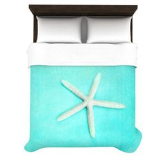 KESS InHouse Starfish Duvet Cover Collection