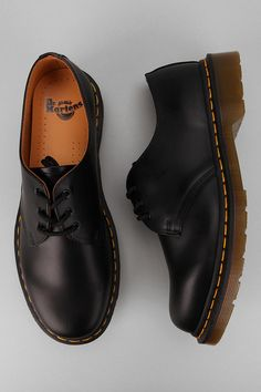 Dr. Martens 1461 Gibson Oxford - My favourite pair of shoes at the moment. They go well with black slim/skinny chinos/black jeans.