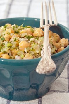 Brown-bag this marinated chickpea salad.