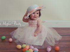 Baby Lexi Easter photo shoot Meghan Brady photography