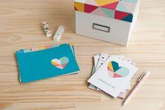 Greeting Card Organiser Happy  #14daysofhappy